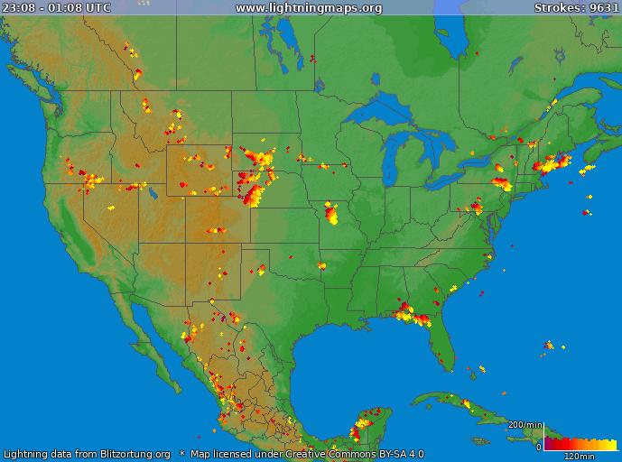 america maps united states usa lightningmaps org
