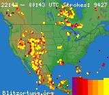 US Lightning Strikes