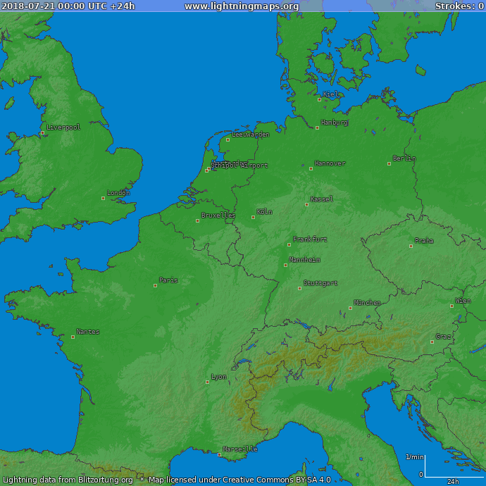 Europe Archives Maps Western Europe Lightningmaps Org
