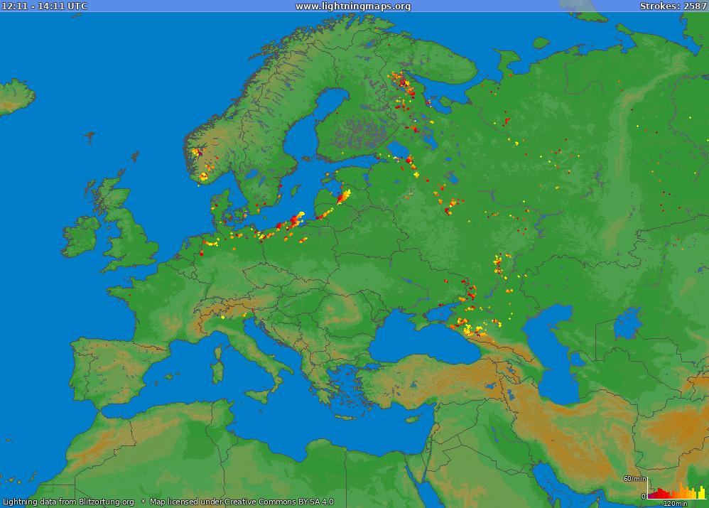 Lightning Maps.org