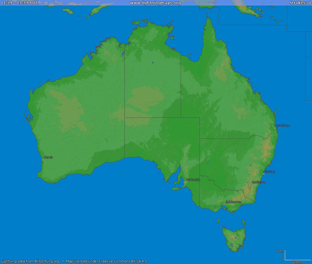 lightning map australia (big)  . oceania  maps  australia  australia (big)  lightningmapsorg