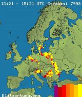 Real Time Lightning Map :: LightningMaps.org