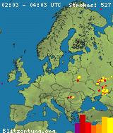 Real Time Lightning Map Lightningmaps Org