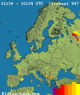 Real Time Lightning Map Lightningmapsorg - Us-lightning-strike-map