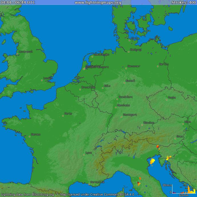 Lightning Map