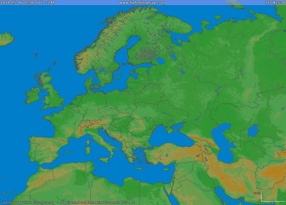 Karta Europa Tidszoner.Europa Historik Kartor Europa Big Lightningmaps Org